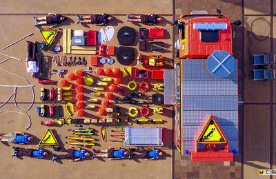Charente-Maritime (17) - Les pompiers de Charente-Maritime relèvent le défi du #TetrisChallenge
