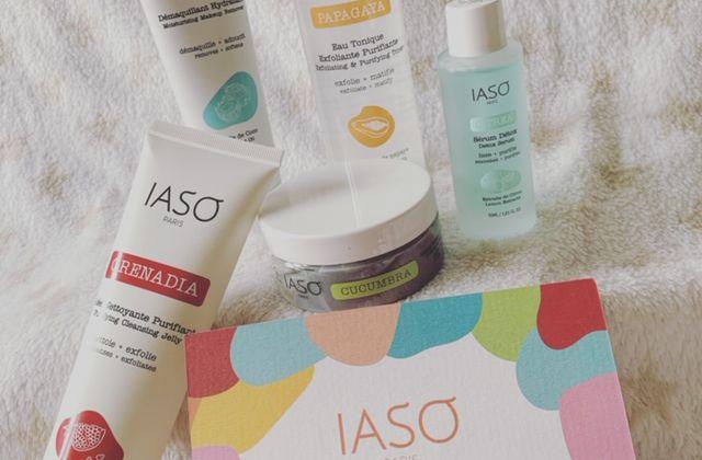 Les produits de la marque IASO Paris