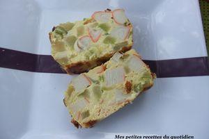 Pain de courgettes au surimi