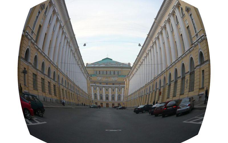 Variations : une rue de Saint-Petersbourg
