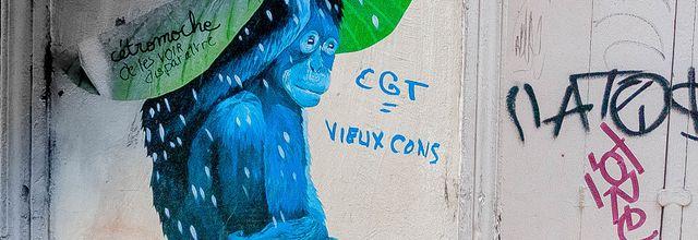 La CGT fait débat dans la rue