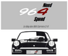 Need964Speed, le blog de ma PORSCHE 964!
