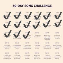 DEFI 30 jours de chansons francophones - Jour 16