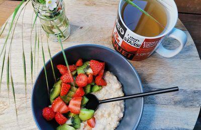 PORRIDGE FRAISE-KIWI / Petit déjeuner