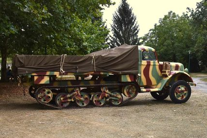 Restauration Ford Maultier VS 3000 SDKFZ 3/4