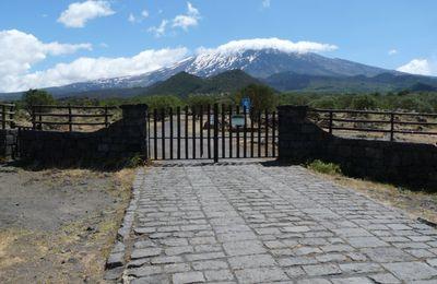 Etna: Bronte - Refuge de Scavio (J1)
