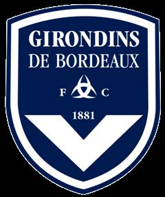 Une photo de l'emblème des Girondins de Bordeaux