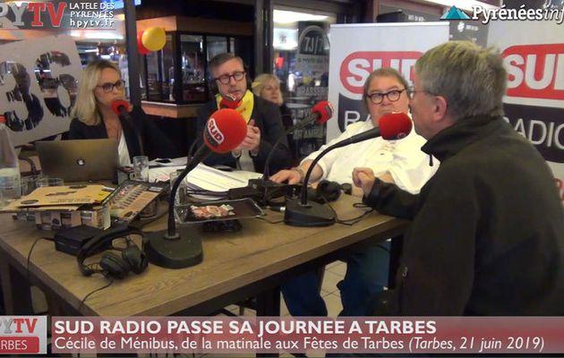 Cécile de Ménibus et Sud Radio à Tarbes (Juin 19) | HPyTv La Télé de Tarbes