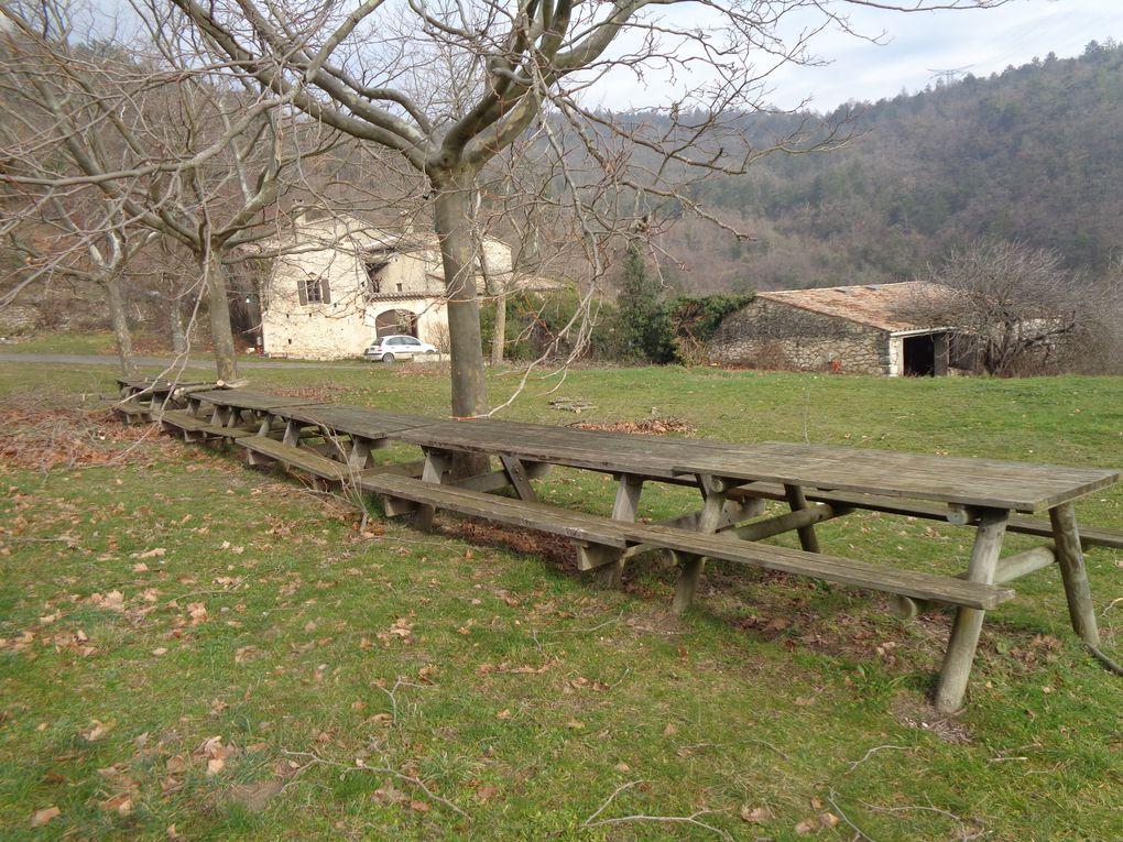 Ma randonnée du mercredi Le Bois des Roussières - Cruas avec le CPC .