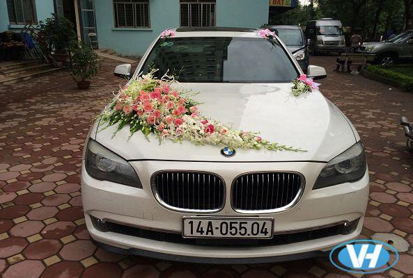 Công ty Vân Hải cho thuê xe 4 chỗ BMW mui trần tại Hà Nội