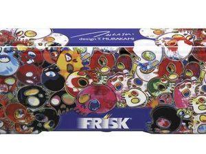 Le nouveau design des boîtes FRISK par l'artiste Takashi Murakami