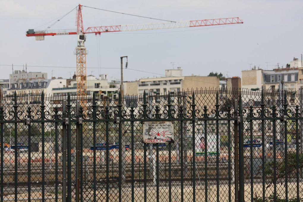 Site Clichy Batigtnolles - Démolitions, déconstructions Photos:©Emmanuel.CRIVAT 2009-2011