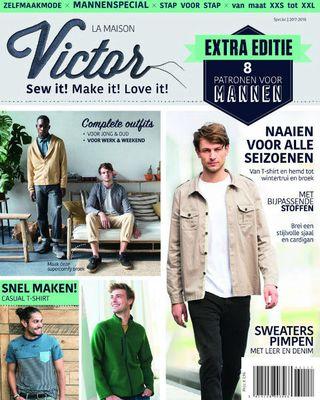 (MAJ) Les magazines de décembre 2017: La Maison Victor homme + bon plan