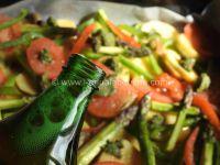Dorade et Légumes à la Bière