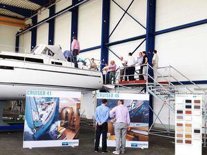 Bavaria - 50 bateaux vendus et un showroom à venir, suite aux Open Days de juin