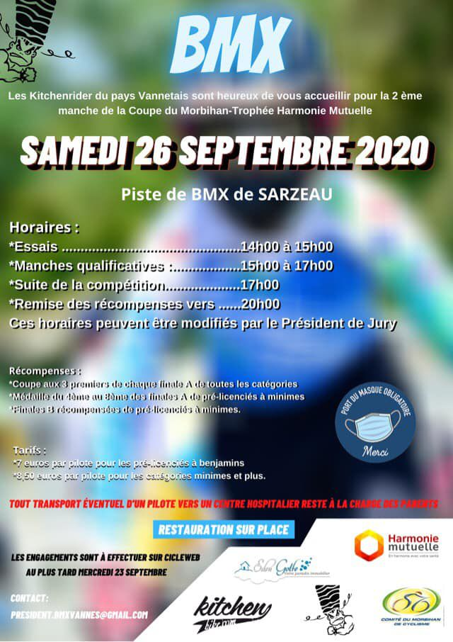 INVITATIONS COMPETITIONS SARZEAU