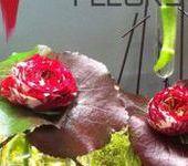 Rolande fleurs aux halles de Narbonne