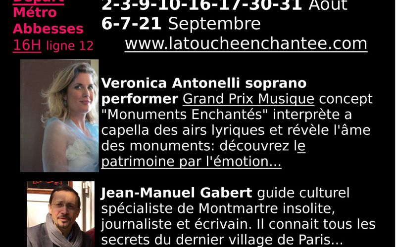 """""""Discover Montmartre with a soprano"""" Pizzicato about classical music Luxembourg"""