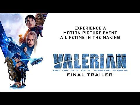 Valerian antd the City of Thousand Planets, troisième bande-annonce !