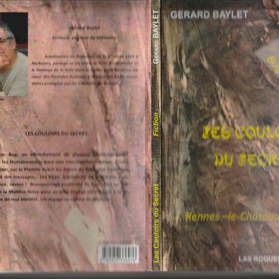 """Gerard Baylet """" Les Couloirs Du Sercret """" Fiction"""