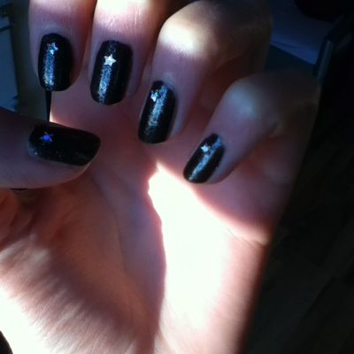 nails of the day... ♥