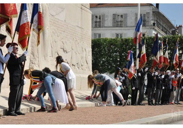 La fin de la seconde guerre mondiale célébrée 71 ans après