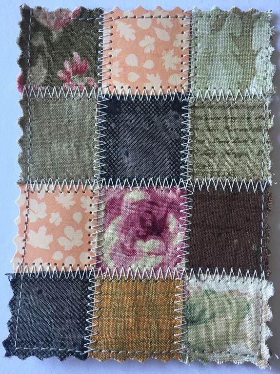 Quilted cards au détail dans différents coloris et tailles - Quelle est votre préférée
