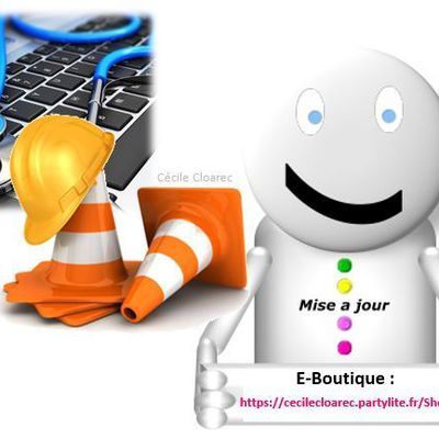 Nouvelle version E-Boutique PartyLite : Courant janvier 2016