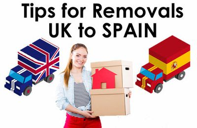 Tips For Removals UK To Spain