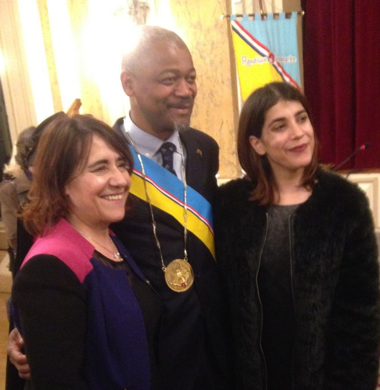 FRANCIS MBELLA, intronisé le 28 Janvier 2016, AMBASSADEUR DE LA REPUBLIQUE DE MONTMARTRE