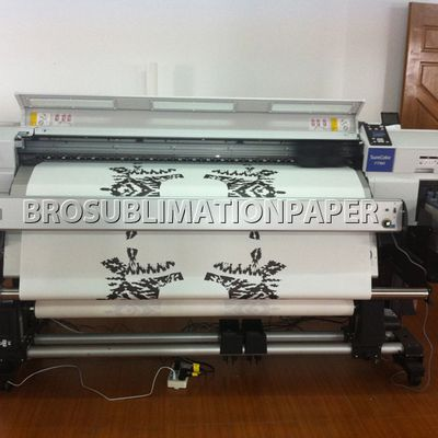 What is the function of sublimation paper ? How does it influence the sublimation transfer result ?