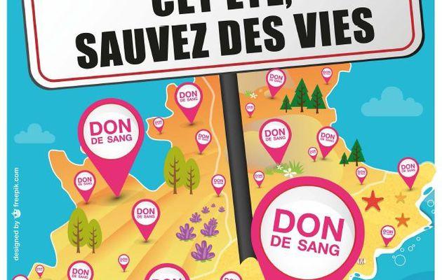 Don du Sang à l'Estaque - Mercredi 5 Aout de 15h à 19h30