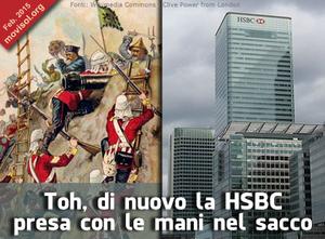 Toh, di nuovo la HSBC presa con le mani nel sacco