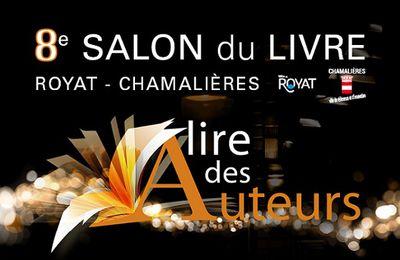 8e Salon du livre de Royat - Chamalières : A lire des Auteurs
