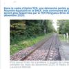 Derrière les déclarations sur la relance ferroviaire, le sabotage continue : TER Périgueux-Brive : le train ne s'arrêtera plus dans trois communes de Dordogne