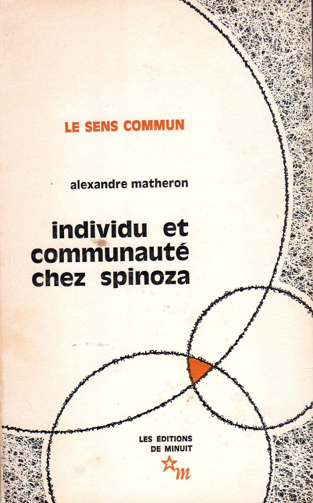 Spinoza par Matheron
