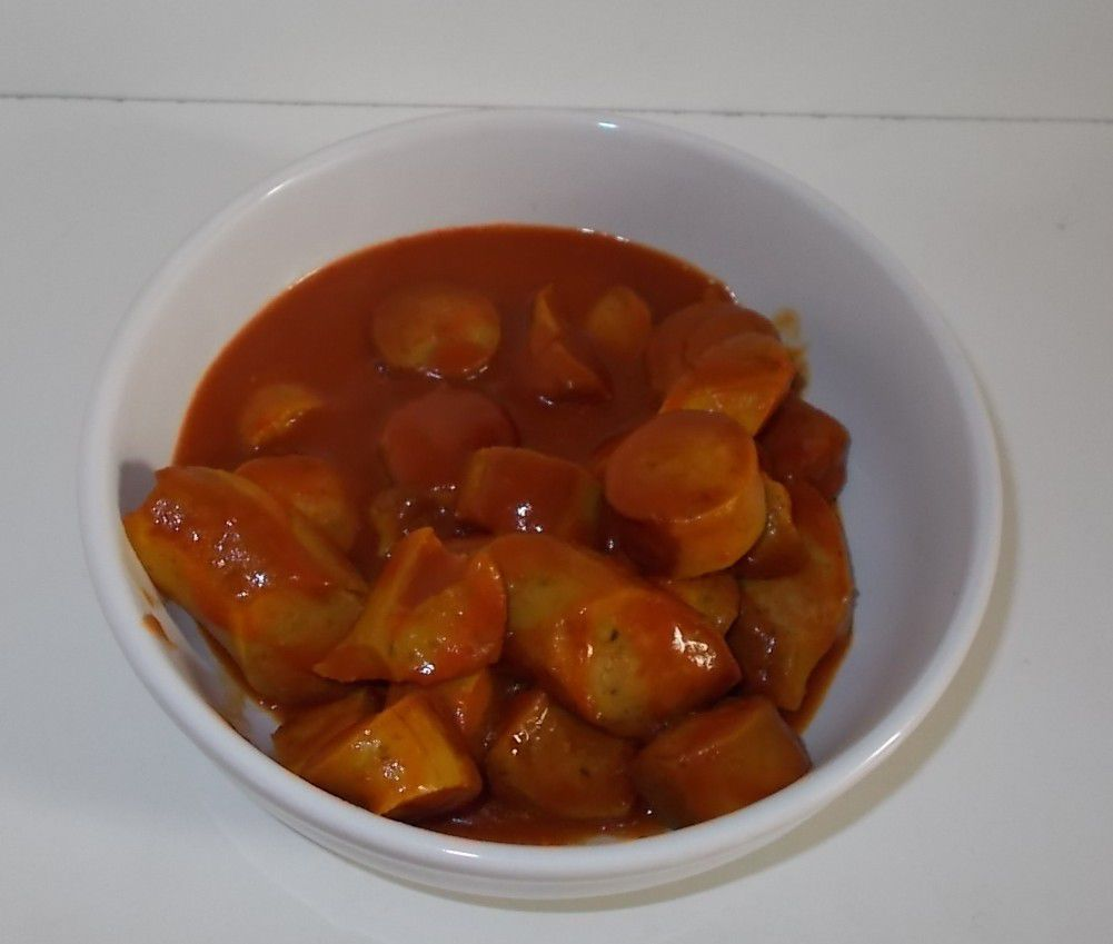 Eifeler Currywurst weiß pikant gewürzt