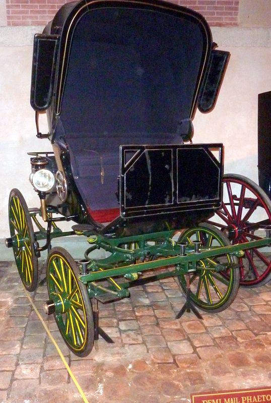 Vaux le vicomte…  Le musée des équipages  (2° Partie) -Patrick Magnaudeix-