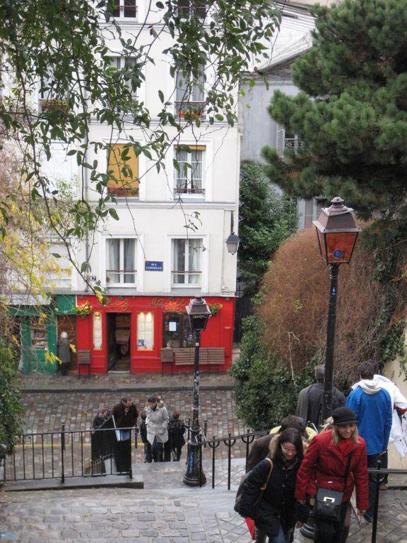 Escaliers de Montmartre