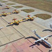 Les moyens aériens sur le feu de Gonfaron - Aerobuzz
