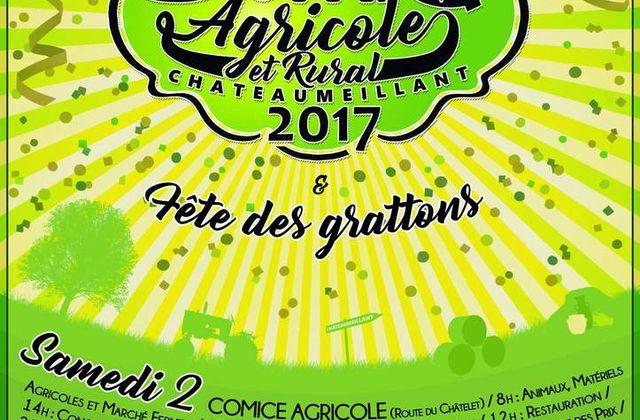 Affiche du Comice Agricole de Châteaumeillant