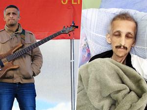ibrahim gokçek du groupe yorum, un musicien révolutionnaire de ce groupe mort à la suite d'une gréve de la faim