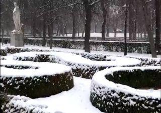 Portugal:Neige et grêle: c'est ainsi que le Portugal s'est réveillé le premier jour de 2021