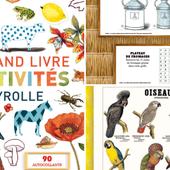 Le Grand Livre d'activités Deyrolle en téléchargement gratuit : 37 planches pour observer les plantes et animaux + des jeux éducatifs