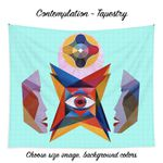 Art Panoply - Contemplation Tapestry