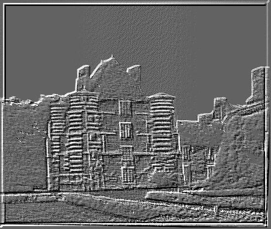 Diaporama château d'ALINCOURT à Parnes