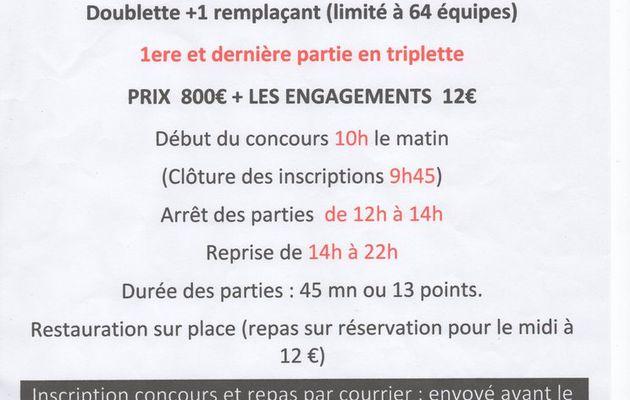 Un Challenge pour Olivier DAVANT