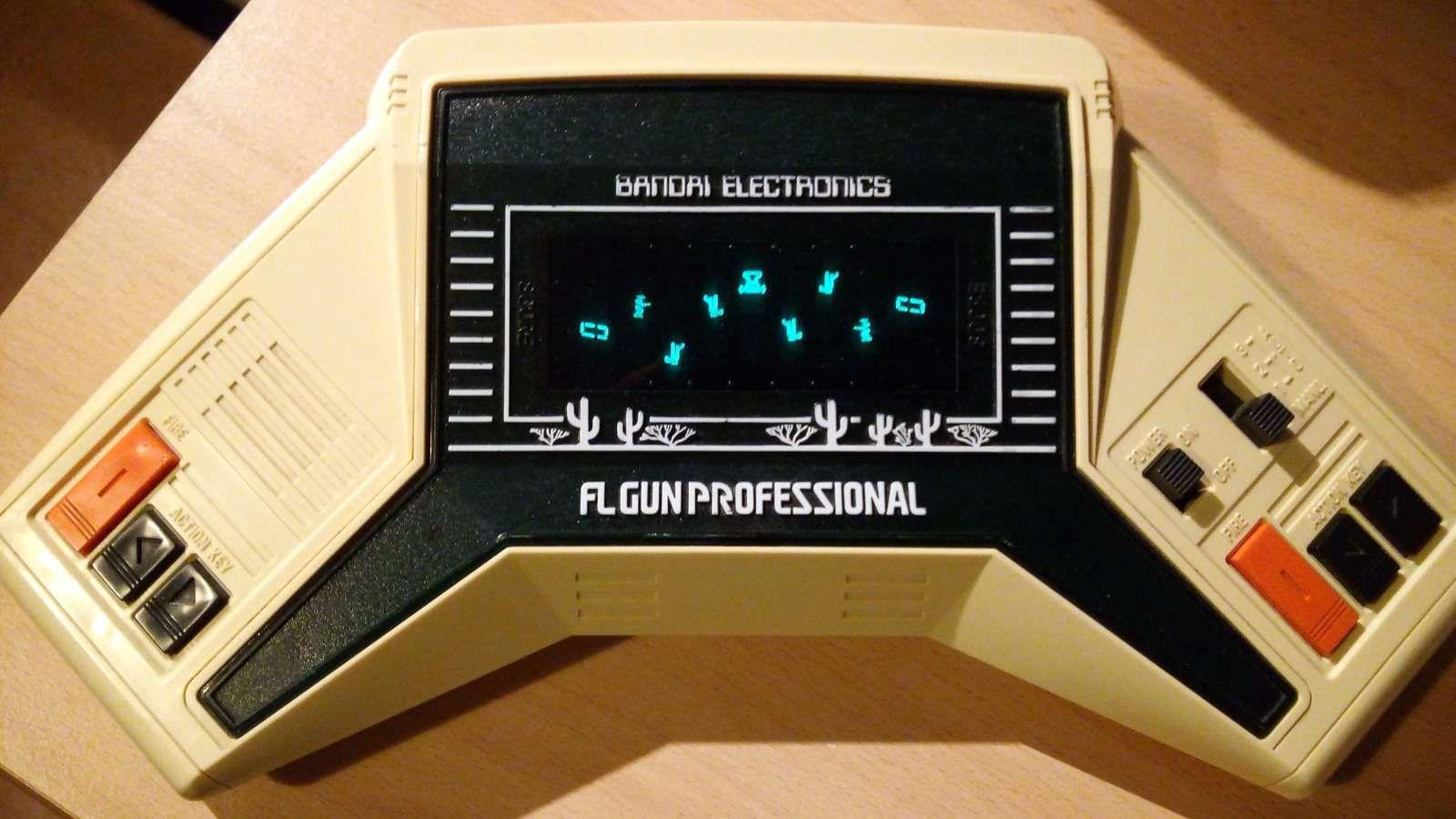 FL GUN PROFESSIONAL (DUEL) - BANDAI ELECTRONICS