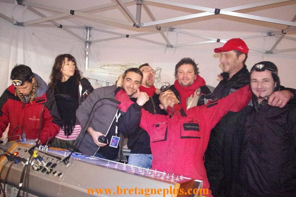 Revivez la nuit du nouvel an 2013, à Rennes.
