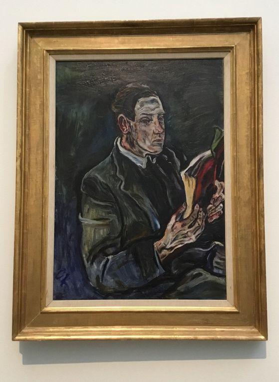 Oskar Kokoschka (1886-1980), Portrait du docteur Ludwig Adler (1914), Huile sur toile